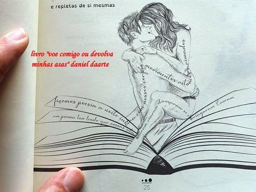 Livre reúne poesias e desenhos sobre a paixão