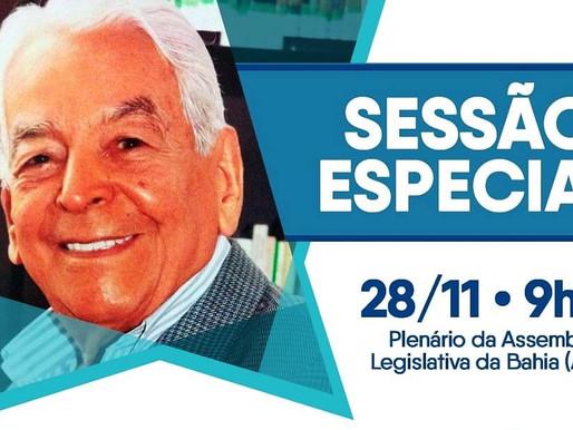 Assembleia homenageará centenário de João Falcão