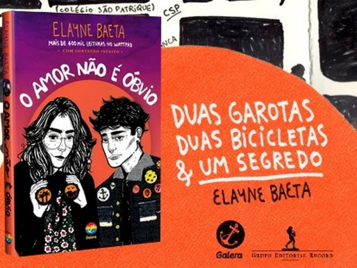 """Elayne Baeta lança """"O amor não é óbvio"""" em Salvador"""