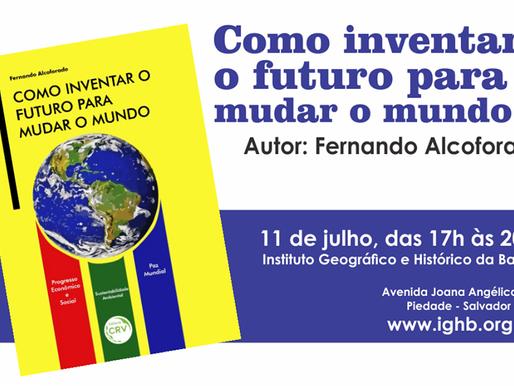 """Alcoforado lança livro """"para mudar o mundo"""""""