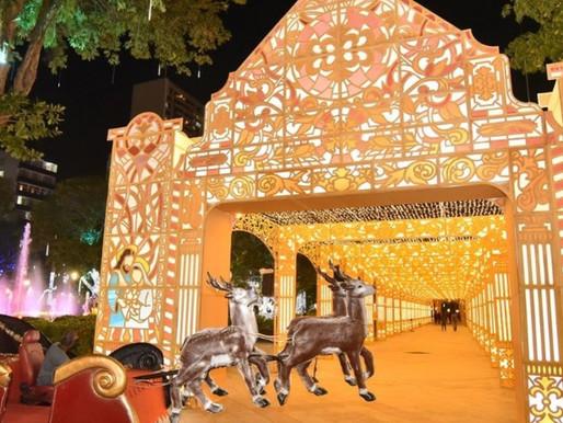 Visitação à decoração de Natal do Campo Grande exige agendamento
