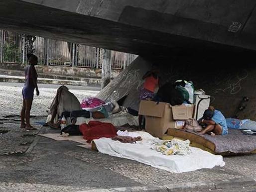 Ações buscam proteger moradores de rua da Covid-19