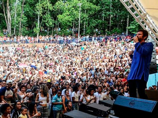 Virada terá show de Saulo no Parque da Cidade