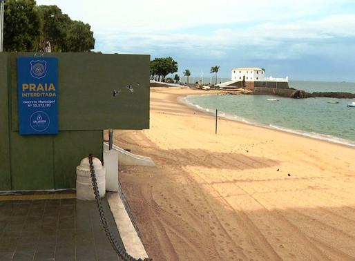 Prefeitura voltará a interditar praias