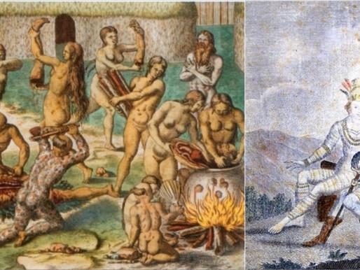 O trabuco de Caramuru, Catarina, Moema e a santa