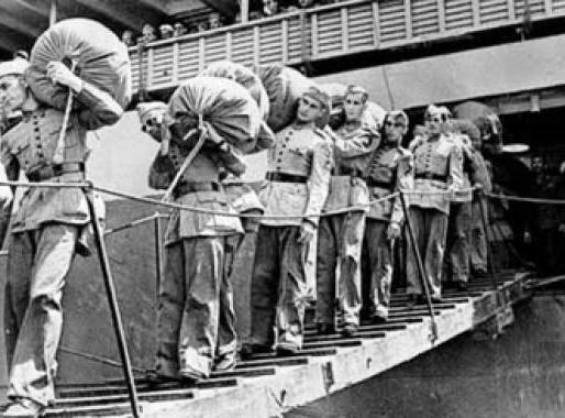Há 75 anos a FEB desembarcava na Itália