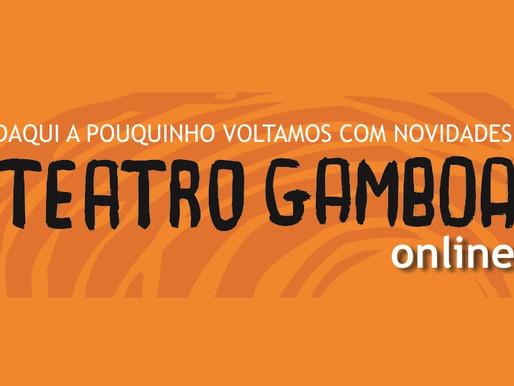 Teatro Gamboa Nova anuncia programação online