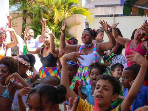 Bairros terão bailinho infantil de Carnaval