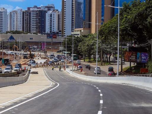 Sexto elevado do BRT de Salvador é inaugurado