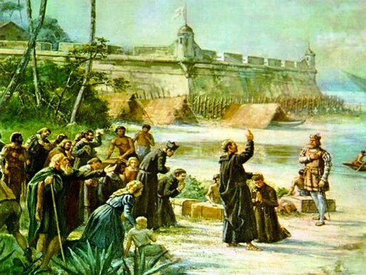 Jesuítas trouxeram a arte de encenar
