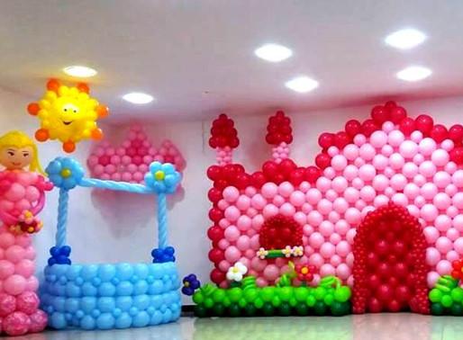 Curso ensina técnicas de arte com balões