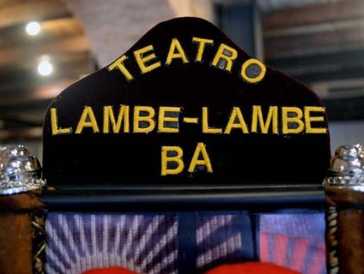 Mostra marca 30 anos do Teatro Lambe-Lambe
