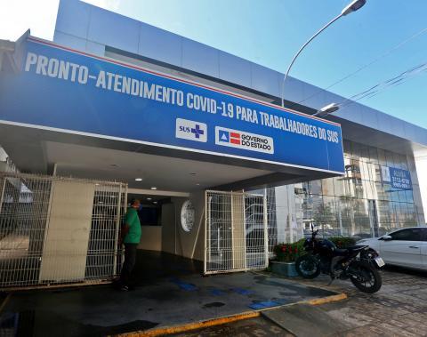 Centro atende profissionais de saúde com suspeita de Covid-19