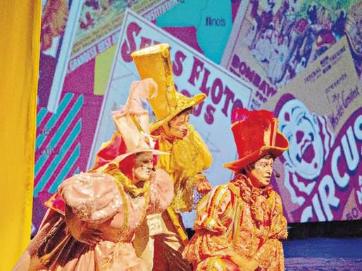 Magia do circo invade Teatro Sesc Casa do Comércio
