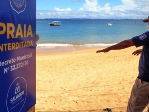 Prefeitura decreta reabertura das praias e volta às aulas presenciais