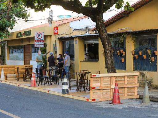 Salvador já tem 44 restaurantes aptos a usar áreas públicas