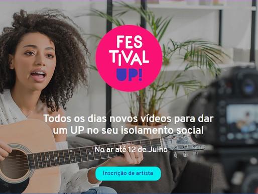 Festival paga artistas por vídeos feitos em casa
