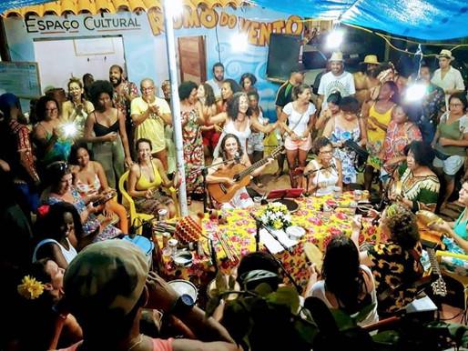 Roda de Samba de Mulheres em Itapuã