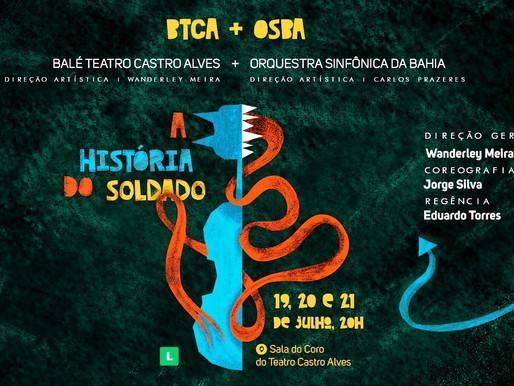 """Balé do TCA e Orquestra da Bahia apresentam """"A história do soldado"""""""