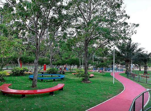 Parques públicos vão reabrir a partir de segunda