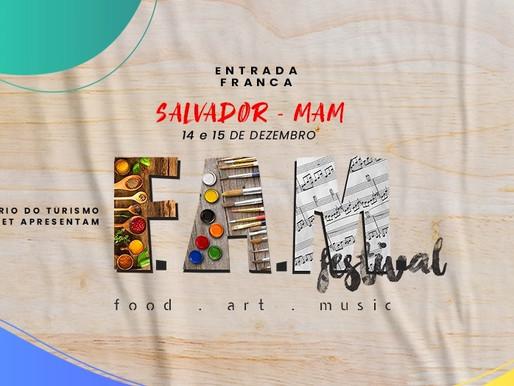 MAM abrigará festival com música, arte e gastronomia