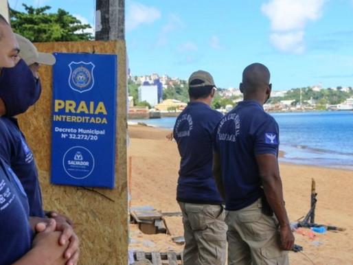Prefeitura interdita quatro praias a partir desta quarta