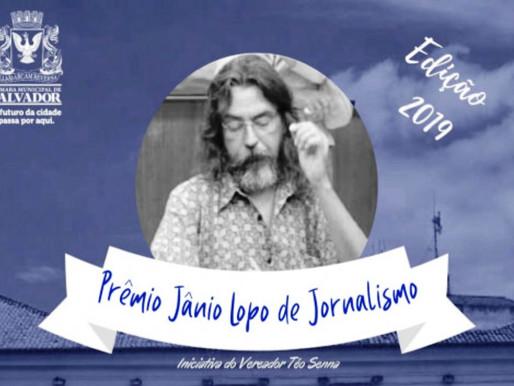 Câmara entregará Prêmio Jânio Lopo nesta terça-feira