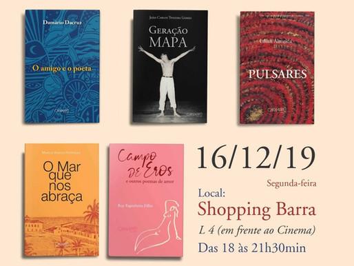 Editora promove lançamento coletivo nesta segunda-feira
