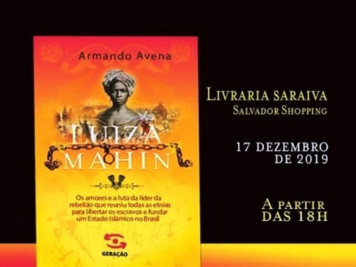 Nova obra de Avena conta a história de Luiza Mahin
