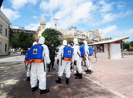 Combate ao coronavírus leva tropas a pontos turísticos