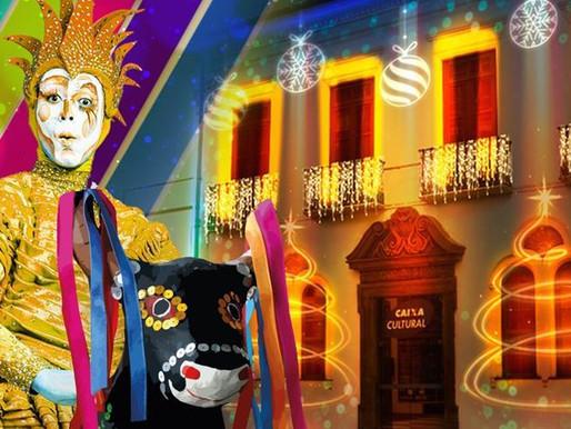 Caixa Cultural realiza Parada de Natal nesta sexta