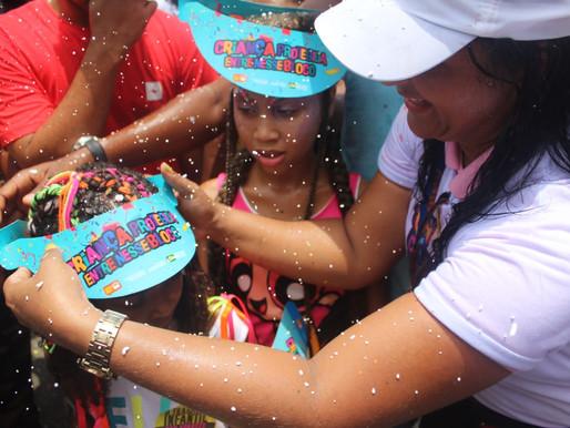"""Campanha """"Criança protegida, entre nesse bloco"""" é lançada em Salvador"""