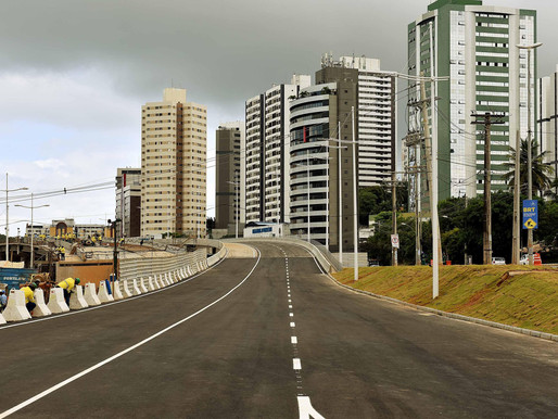 Terceiro viaduto das obras do BRT é entregue