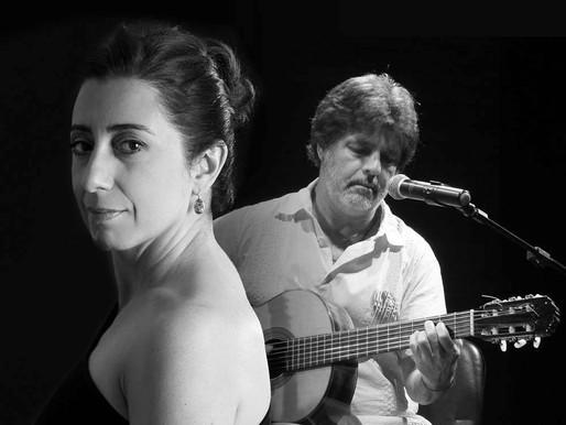 Gangorra de Dois reúne Jussara Silveira e Luiz Brasil na Sala do Coro