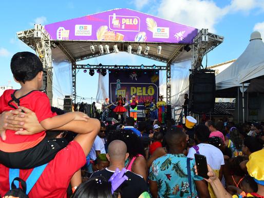 Bailes infantis garantem a diversão da criançada no Pelô