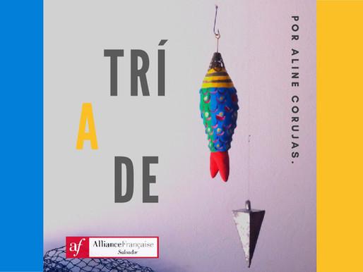 "Aline Corujas mostra ""Tríade"" na Aliança Francesa"