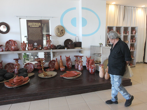 Centro reúne produção de artesãos baianos