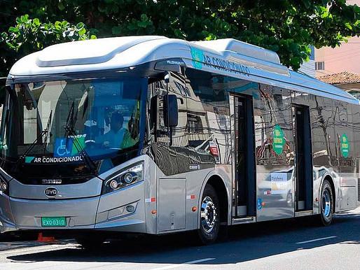 Ônibus elétrico começa a ser testado nesta terça