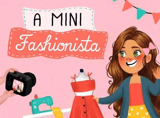 """Minifashionista"" traz tema atual para a meninada"