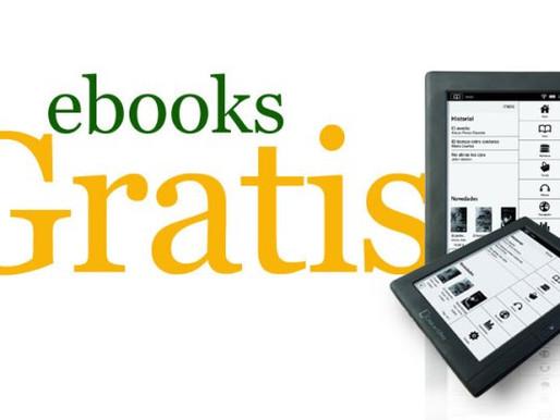 Mais de mil livros digitais gratuitos são liberados por livraria