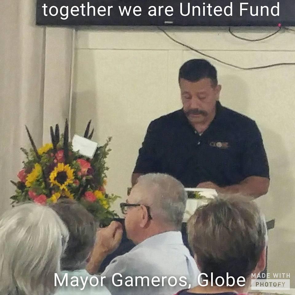 Globe Mayor - Al Gameros