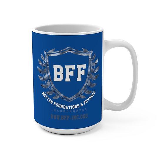 BF&F, Inc. Mug 15oz (Blue)