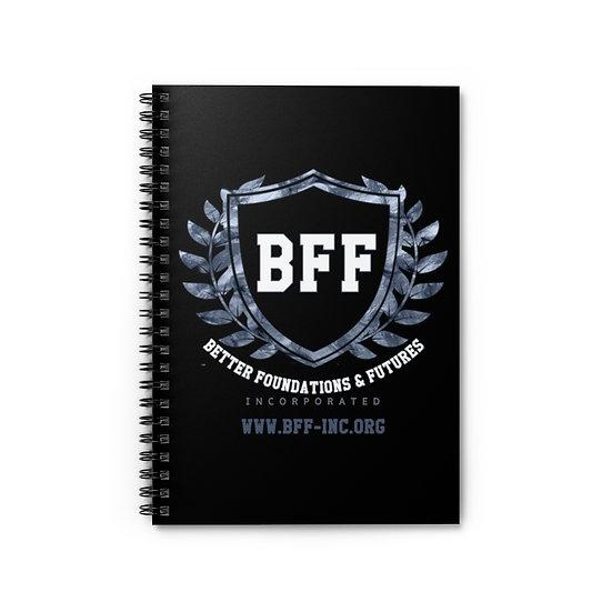 BF&F, Inc. Spiral Notebook (Black)