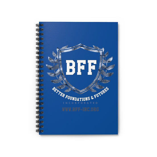 BF&F, Inc. Spiral Notebook (Blue)