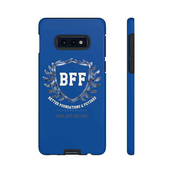BF&F, Inc. Tough Phone Case (Blue)