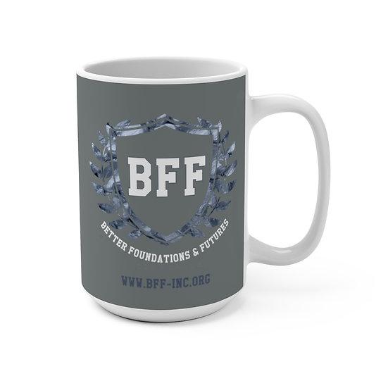 BF&F, Inc. Mug 15oz (Gray)