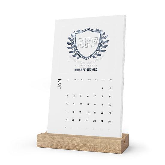 BF&F, Inc. Desk Calendar