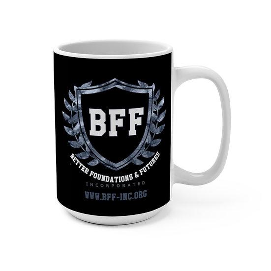BF&F, Inc. Mug 15oz (Black)