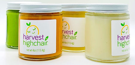 Harvest to Highchair baby food