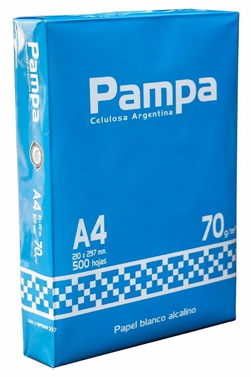 RESMA PAMPA A4 DE 70 GR.